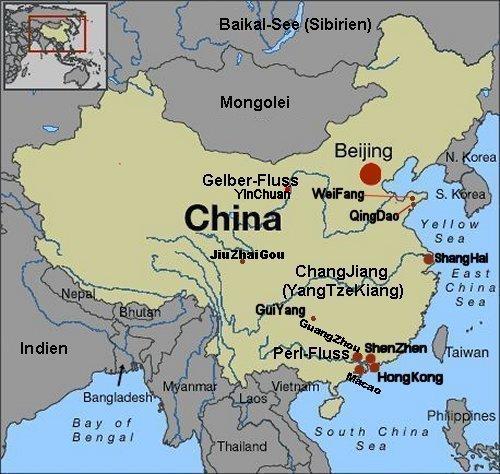 Chinesische Mauer Karte.Chinesische Drachen Chinese Kites